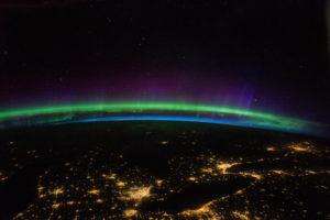 Astronautas compartieron increíbles imágenes de las auroras