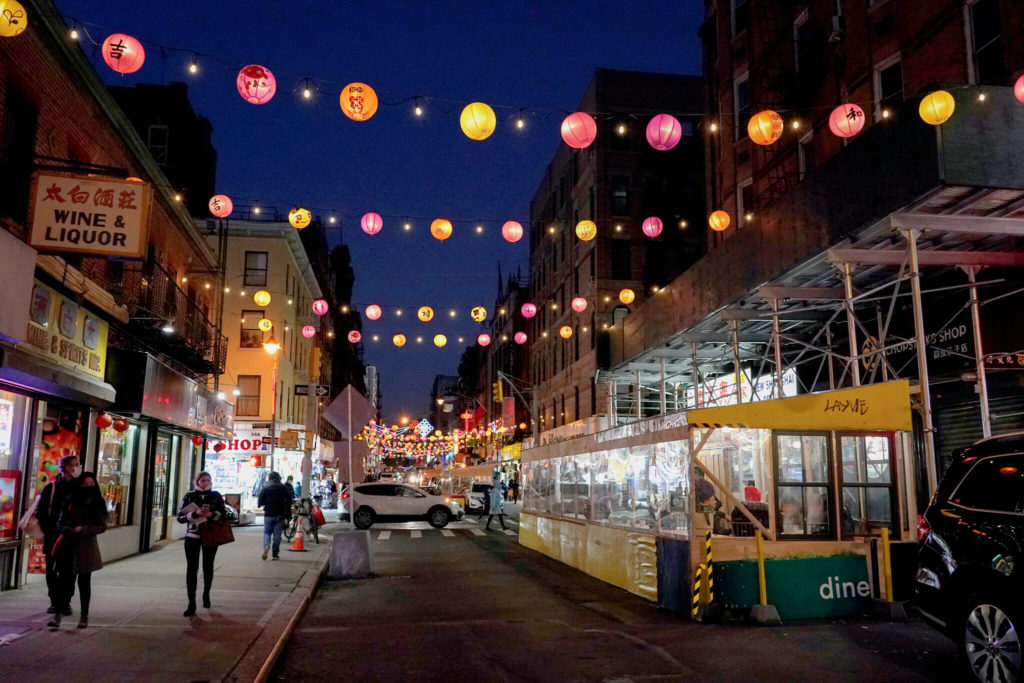 barrio chino de Manhattan