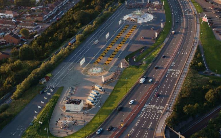 El primer aeropuerto para autos eléctricos voladores abrirá este año en Reino Unido