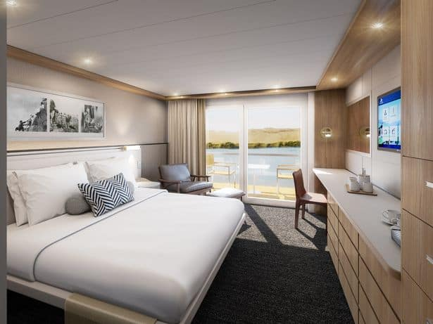La compañía Viking Cruise lanzó un barco que permitirá navegar las aguas del Río Nilo en un crucero de lujo