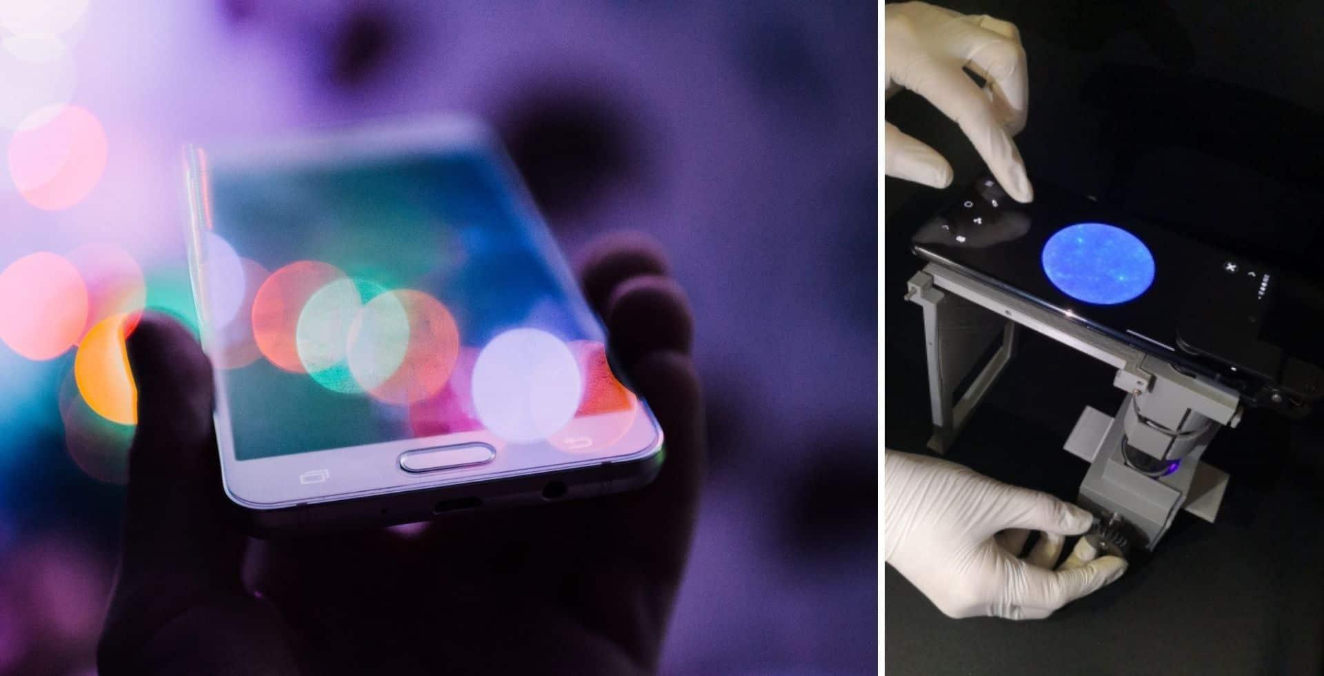Un grupo de investigadores está desarrollando un test de COVID-19 basado en un teléfono inteligente