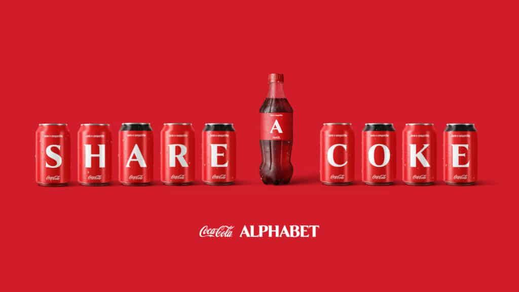 imagen Coca-Cola Coca Cola lanzara una coleccion de latas y botellas con las letras del abecedario y estara disponible en paises de Latinoamerica 6
