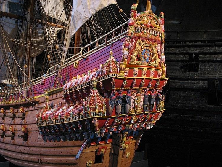 imagen barco sunken swedish warship vasa 4