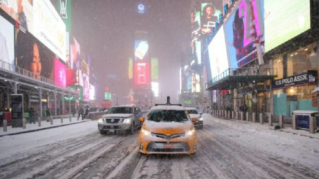 imagen tormenta de nieve Nueva York 2