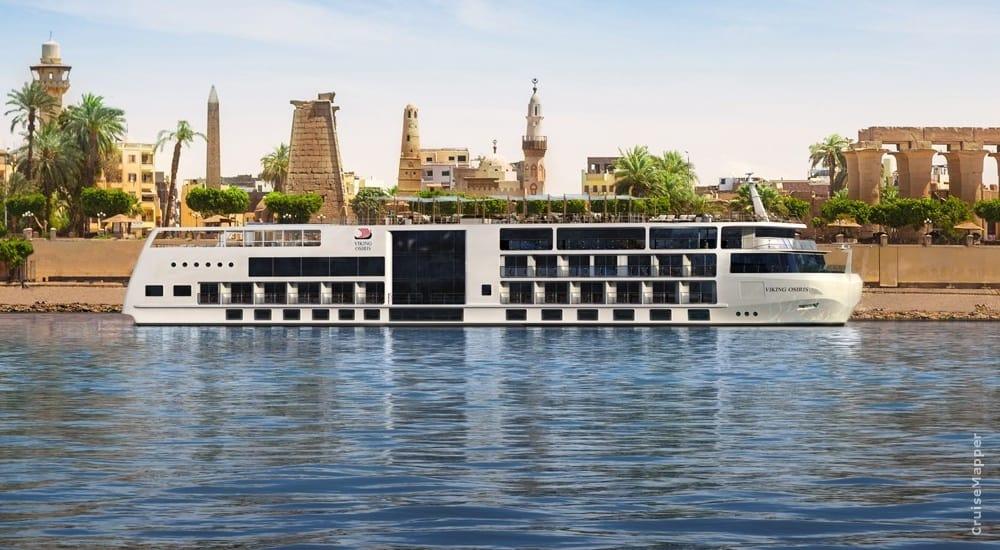El nuevo crucero de lujo de Viking navegará por el Nilo en 2022