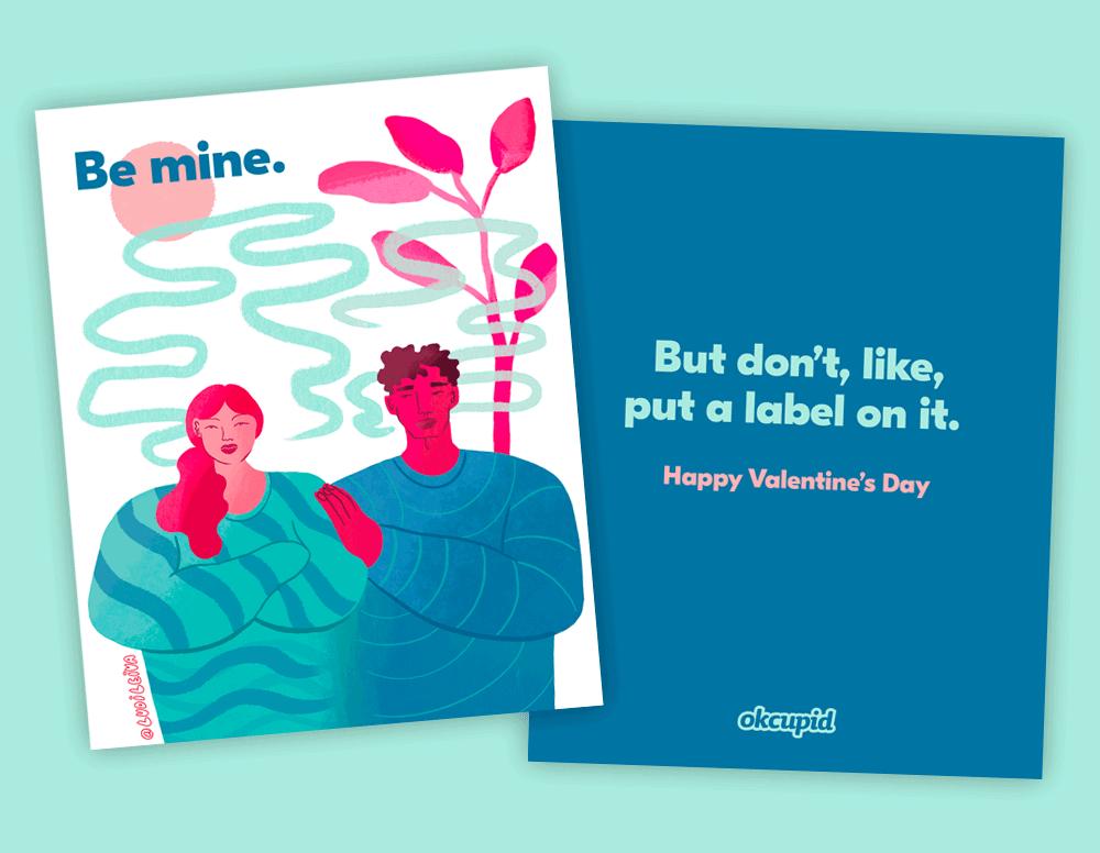 Imagen Tarjetas Del Día De San Valentín Esta App De Citas Diseno Tarjetas Del Dia De San Valentin Inspiradas En El Tipo De Personas Conexiones Y Amor Que Existen Hoy 2 1
