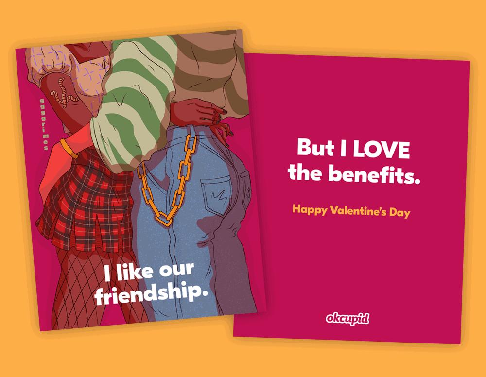 Esta app de citas diseñó tarjetas del Día de San Valentín inspiradas en el tipo de personas, conexiones y amor que existen hoy 3