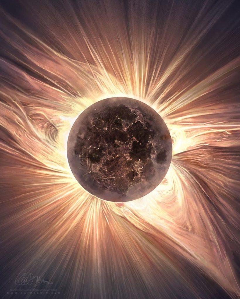 imagen eclipse solar cathrin machin solar eclipse painting 5