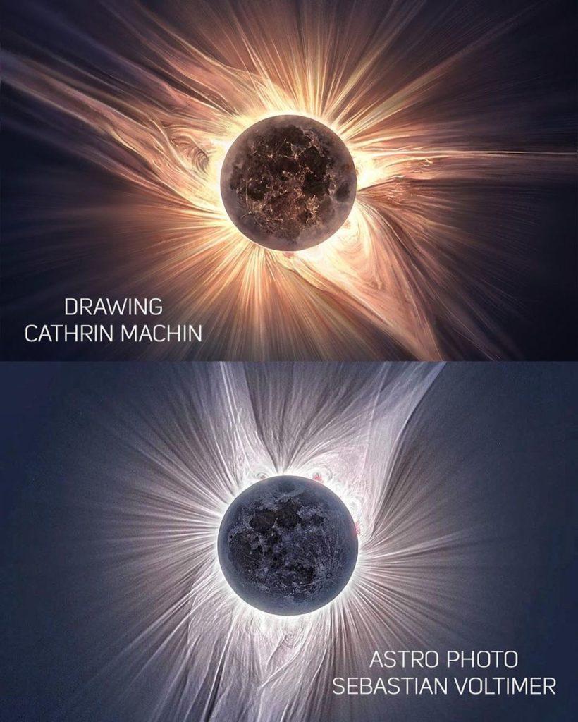 imagen eclipse solar cathrin machin solar eclipse painting 3