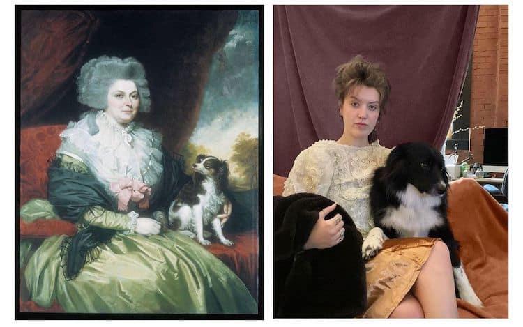imagen pinturas famosas famous artwork recreation 9