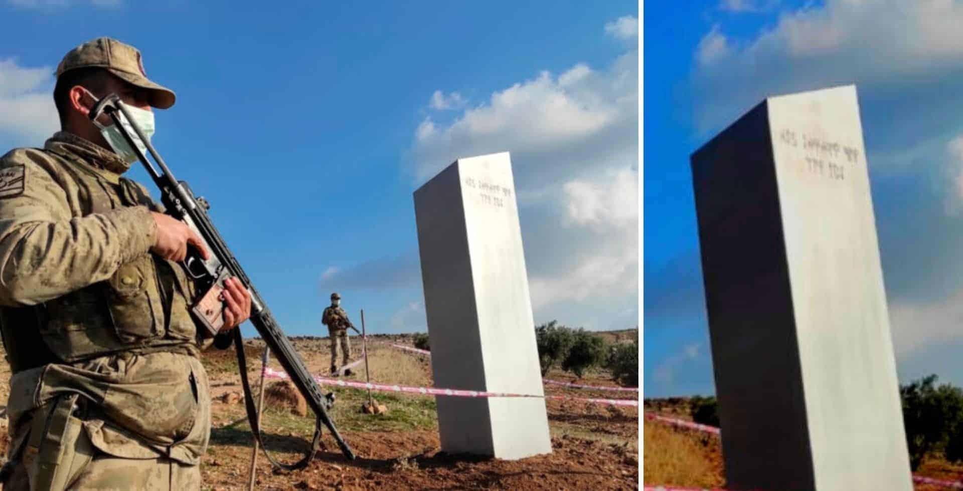 Un monolito de 10 metros apareció cerca un sitio que es Patrimonio de la Humanidad en Turquía