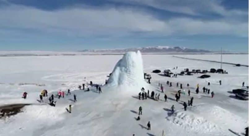 volcán de hielo