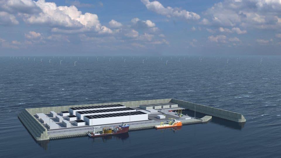 Dinamarca construirá una isla artificial que será una base de energía eólica en el Mar del Norte