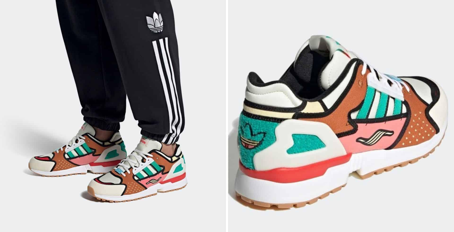 Las nuevas zapatillas de Adidas, inspiradas en Los Simpson, estarán disponibles en todo el mundo a partir de Febrero