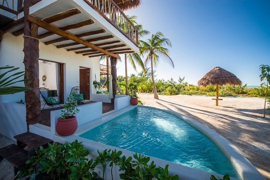 Imagen Viajeros Para Alojarse En Los Mejores Eco-Resorts De Latinoamérica Sortean Estadia Para 2 Personas En Un Encantador Eco Hotel En La Isla De Holbox Mexico 5