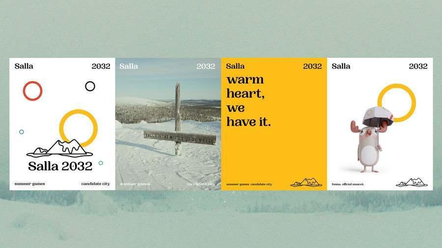 Juegos Olímpicos de verano El pueblo mas frio de Finlandia presenta su candidatura a los Juegos Olimpicos de verano en 2032 para concienciar sobre el cambio climatico 3