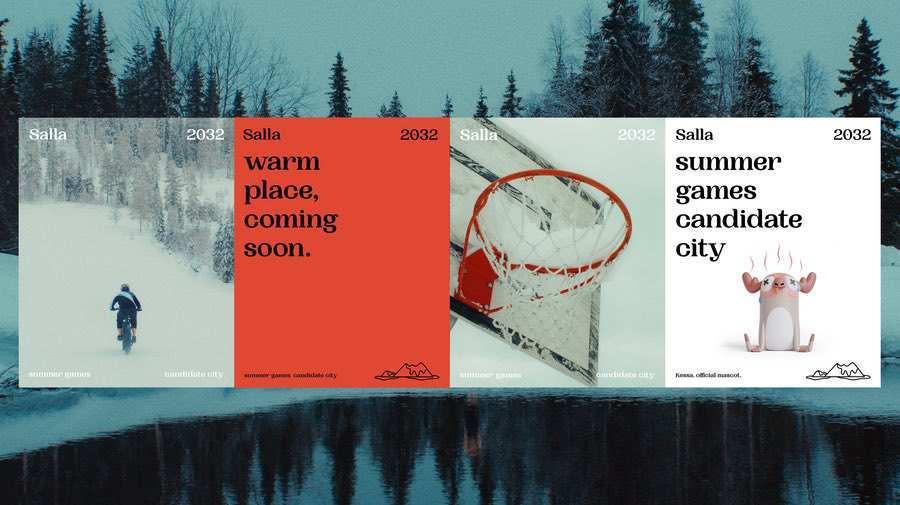 Juegos Olímpicos de verano El pueblo mas frio de Finlandia presenta su candidatura a los Juegos Olimpicos de verano en 2032 para concienciar sobre el cambio climatico 4
