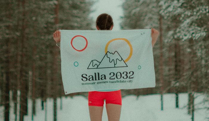 El pueblo más frío de Finlandia presenta su candidatura a los Juegos Olímpicos de verano en 2032 para concienciar sobre el cambio climático