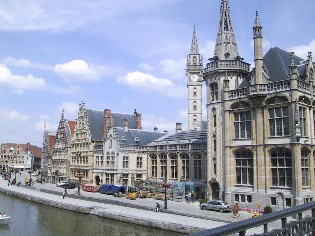 imagen destinos de Europa para visitar en 2021 Ghent centre