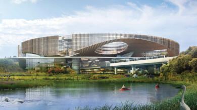 """Presentaron la nueva """"ciudad del futuro"""" de China que estará situada en las afueras de Chengdu"""