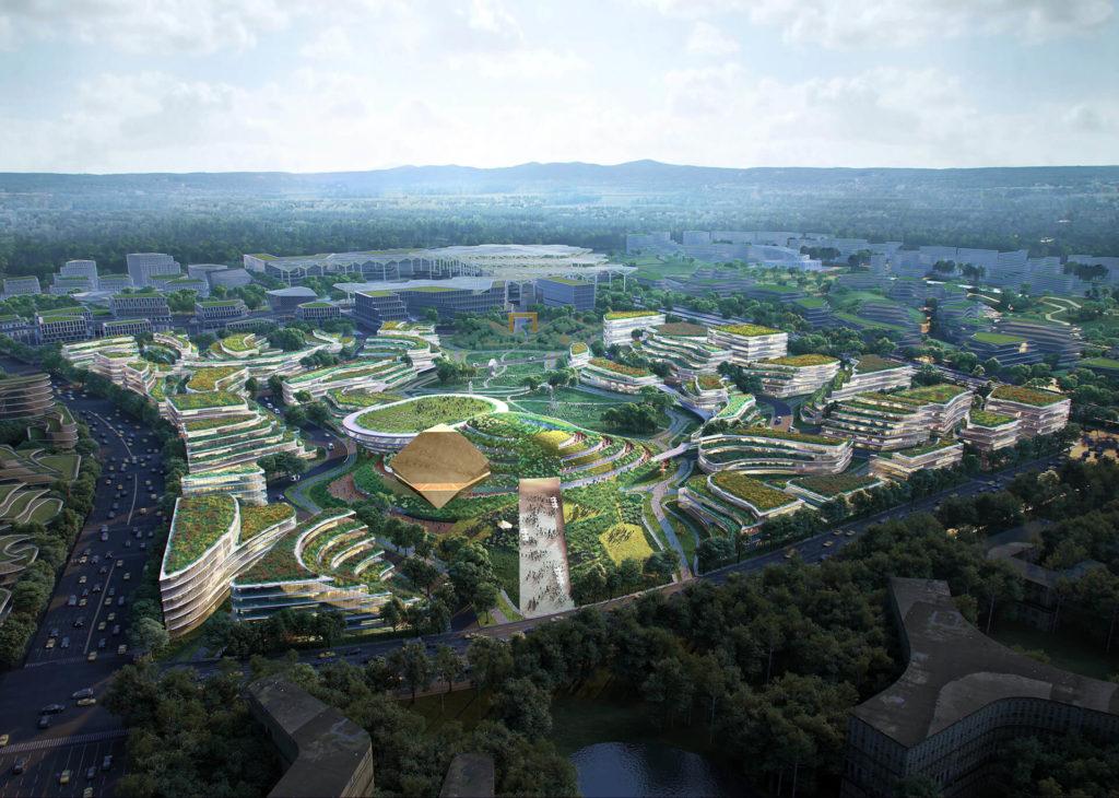Presentaron La Nueva &Quot;Ciudad Del Futuro&Quot; De China Que Estará Situada En Las Afueras De Chengdu
