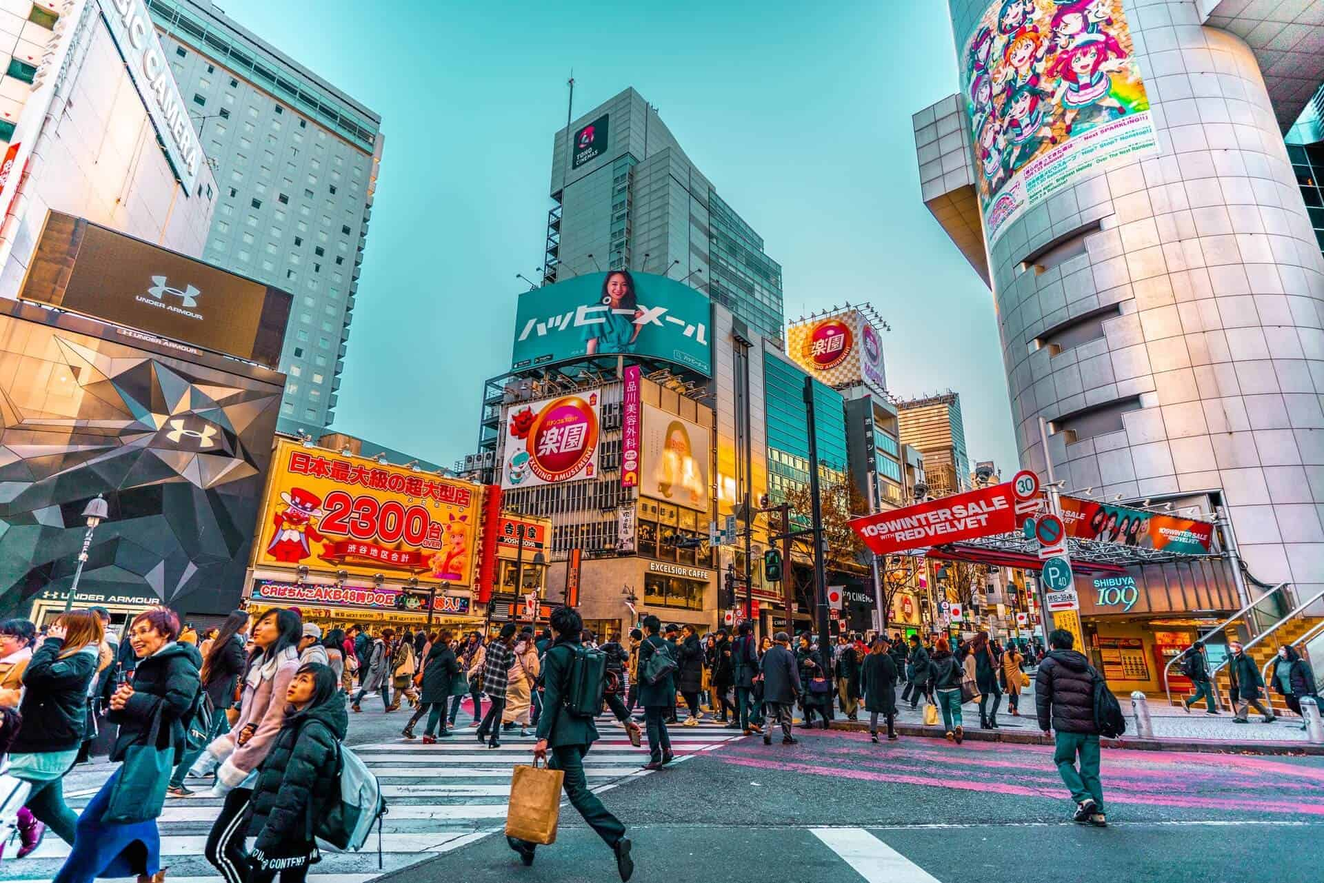 gratis en Tokio