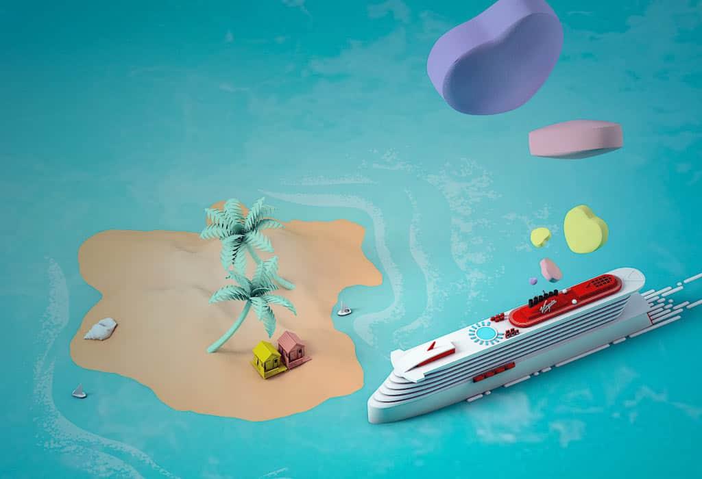 Virgin Voyages lanzó una campaña para regalar 2.021 viajes en sus cruceros durante todo este año