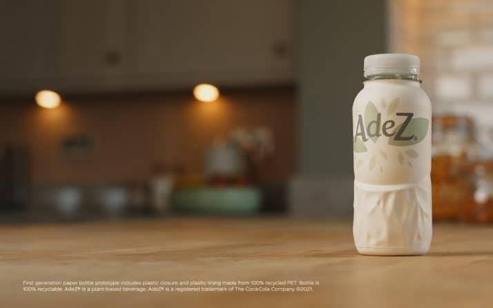 Coca Cola presenta su primera bebida en botellas de papel