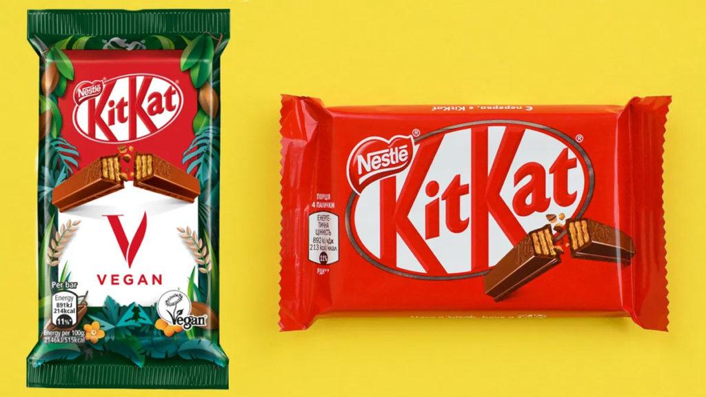 KitKat V: Nestlé presentó la nueva barra de chocolate KitKat y es vegana