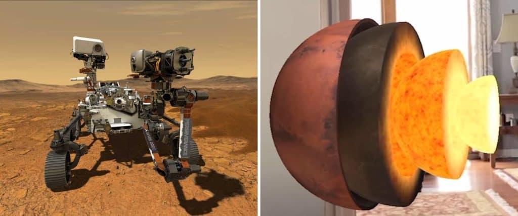 Esta aplicación permite explorar Marte desde el living de tu casa utilizando realidad aumentada