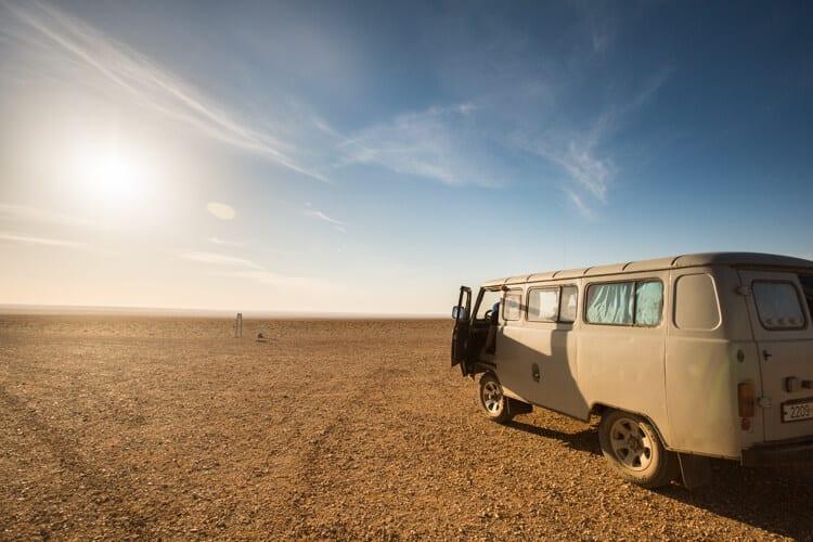 desiertos más extraños del mundo
