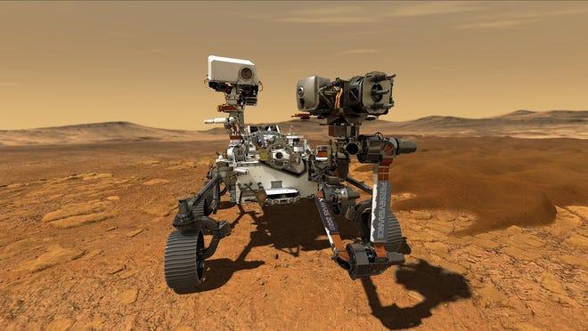 El último rover de la NASA en Marte intentará el aterrizaje más arriesgado que se haya registrado hasta ahora en el planeta rojo