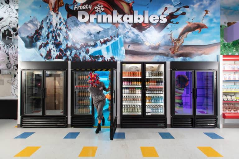 Este supermercado de Las Vegas es en realidad una muestra de arte inmersivo