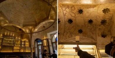 Encontraron un baño turco del siglo XII mientras realizaban tareas de renovación en una cervecería de España