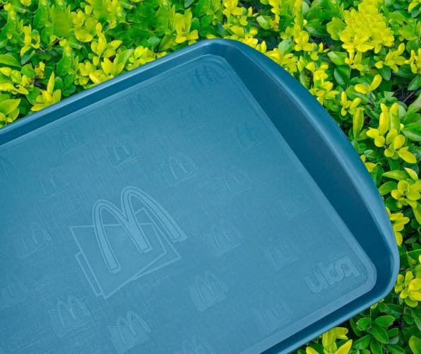 McDonald's lanza nuevas bandejas hechas con desperdicio de comida en franquicias de América Latina y el Caribe