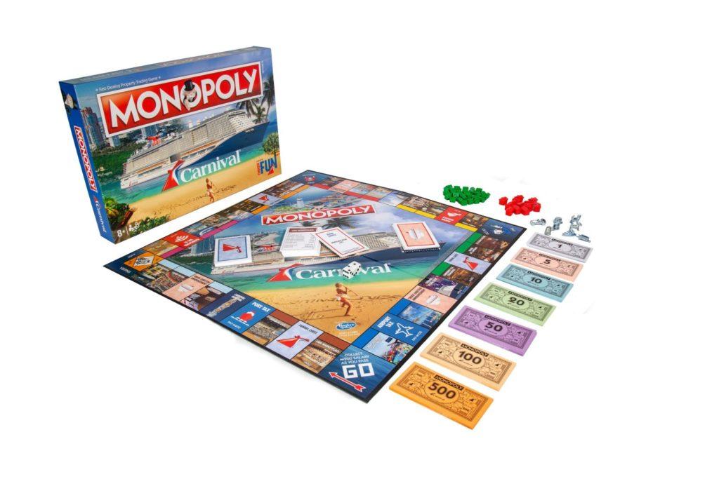 La Compañía De Cruceros Carnival Lanzó Su Propia Versión De Monopoly