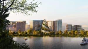 Así lucirá el nuevo edificio de la sede de Amazon en Virginia, Estados Unidos
