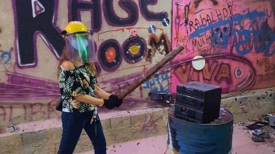 Sao Paulo Rage room 4