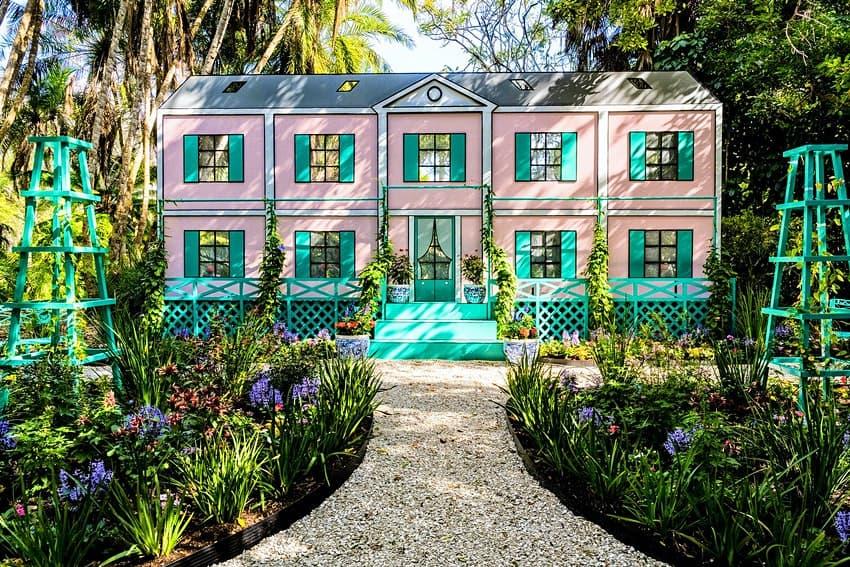 Florida tiene su propia exhibición de pop art inspirada en los jardines de Monet