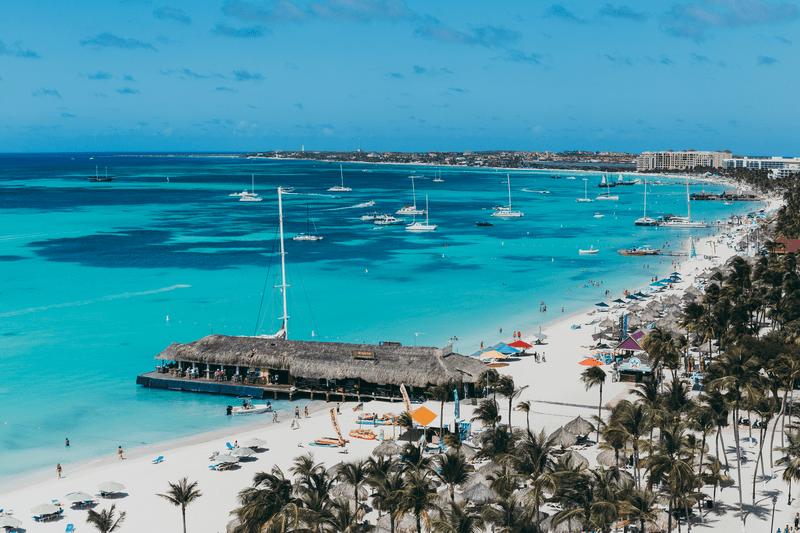 imagen mejores playas de Aruba para conocer Palm Beach Aruba 1