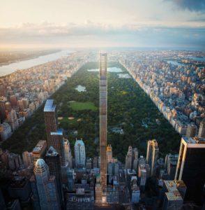 Así es el rascacielos más estrecho del mundo que será inaugurado en Manhattan en este 2021