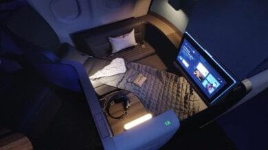 Estos nuevos asientos de JetBlue serán las camas más grandes que se encontrarán volando
