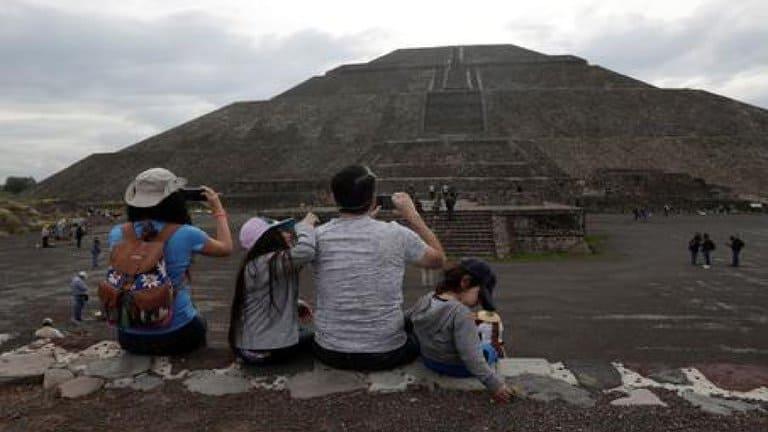 México: Reabrió La Zona Arqueológica De Teotihuacan, Aunque Con Aforo Reducido Y Sin Acceso A Las Pirámides