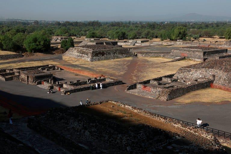 México Reabrió la Zona arqueológica de Teotihuacan, aunque con aforo reducido y sin acceso a las pirámides