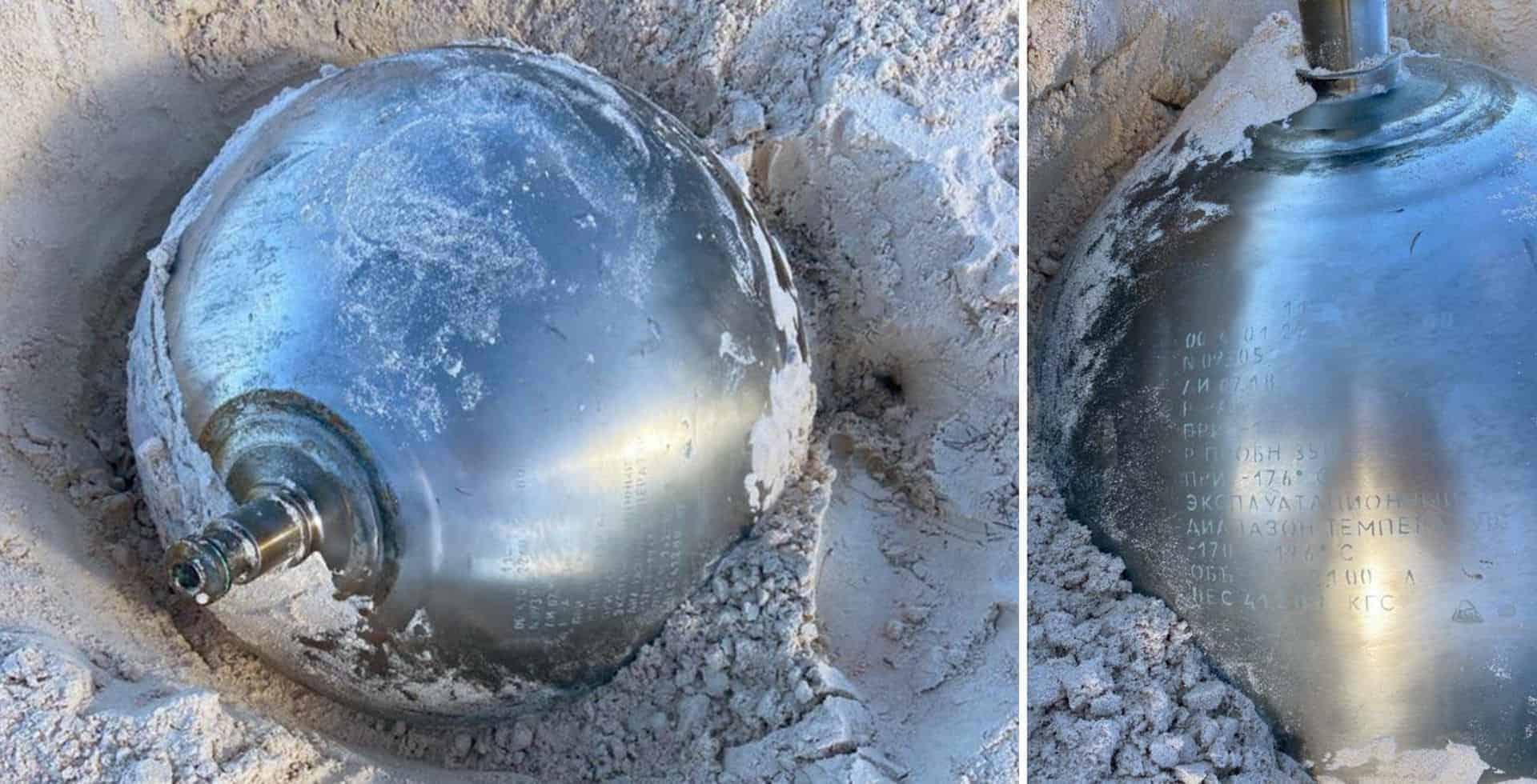 Una misteriosa bola de metal apareció en una playa de Las Bahamas