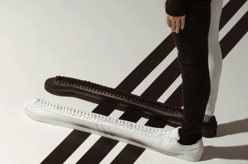 zapatos más largos del mundo
