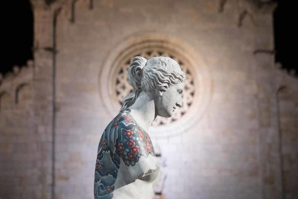 Imagen Esculturas De Mármol Fabio Viale Tatuajes 4