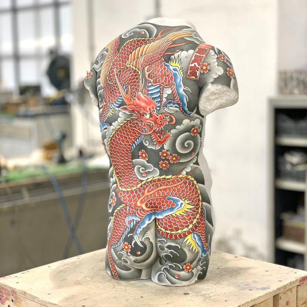Imagen Esculturas De Mármol Fabio Viale Tatuajes 2