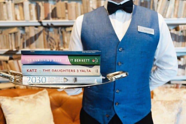 mayordomo de libros