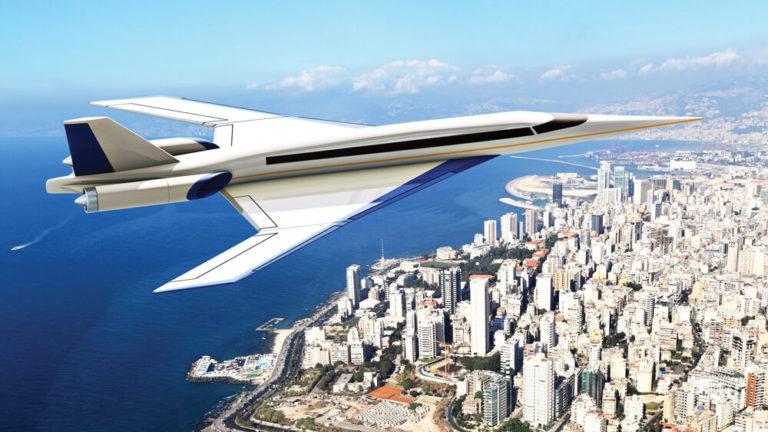 súper jet que conectará Londres con Nueva York